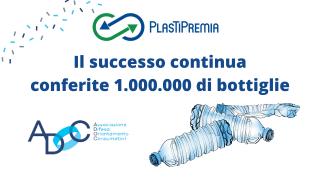 plastipremia conferita la milionesima bottiglia