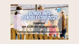 Bonus Inps Centri estivi