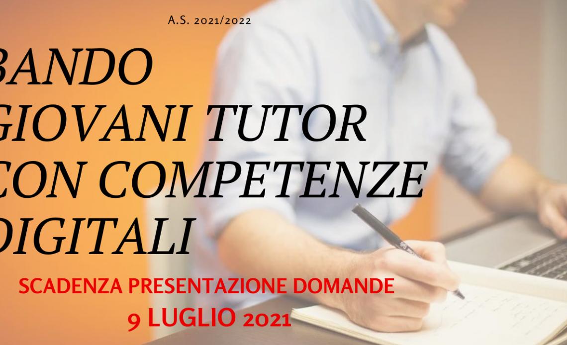 giovni tutor con competenze digitali